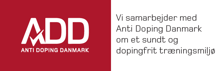 Vi samarbejder med Anti Doping Danmark